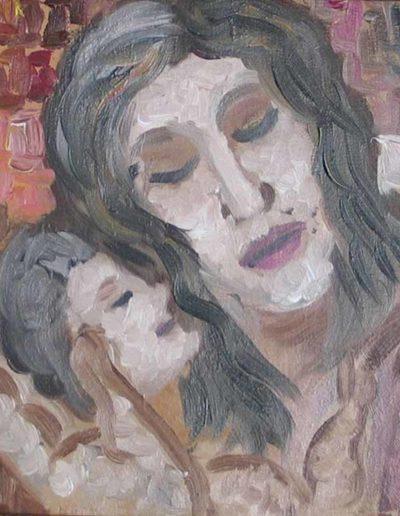 07-Maternità1-mis-30x40-(olio-su-tela)-2004