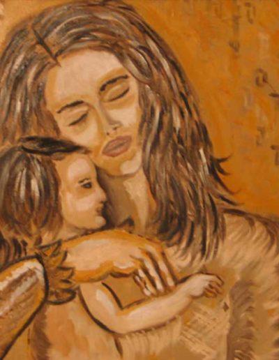 08-Maternità2-mis-50x70-(olio-su-tela)-2004