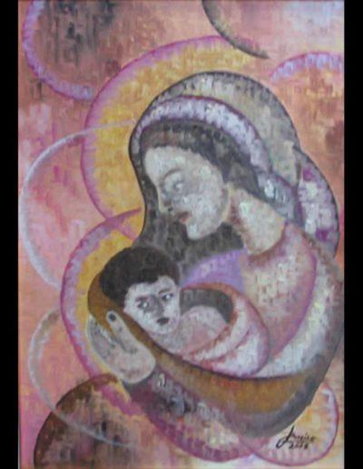 09-Maternità3-mis-50x70-(olio-su-tela)-2005