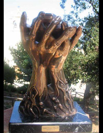 1 A Dachau per Amore (B) mis 30x20x12 (bronzo) 2006